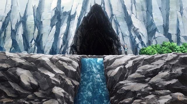 sao果ての山脈の洞窟