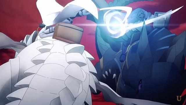 整合騎士vs闇の軍勢の竜騎士