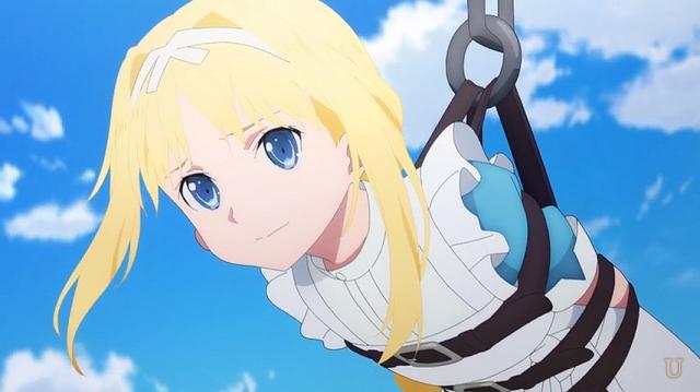 整合騎士に連れていかれるアリス