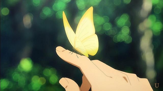 saoリアルな蝶
