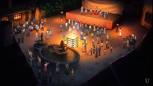 saoギガスシダー伐採記念の村の宴