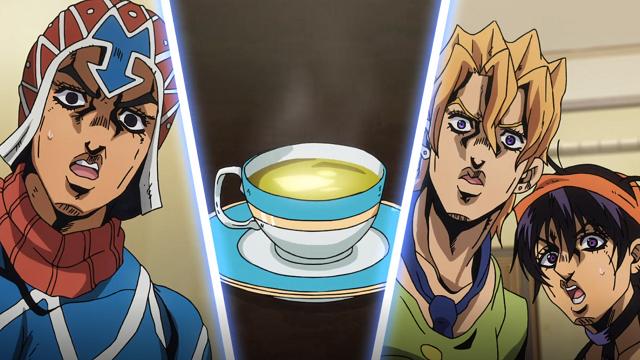 ジョジョの奇妙な冒険第5話アバ茶の洗礼