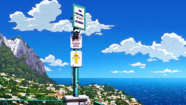 ジョジョの奇妙な冒険第7話カプリ島