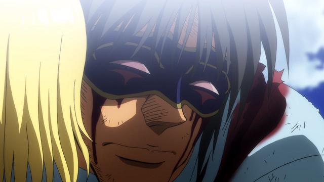 からくりサーカス第7話仮面を着けた鳴海