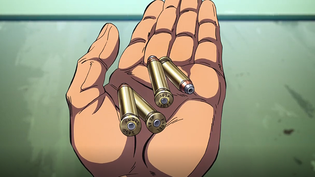 ジョジョの奇妙な冒険第8話4発の銃弾