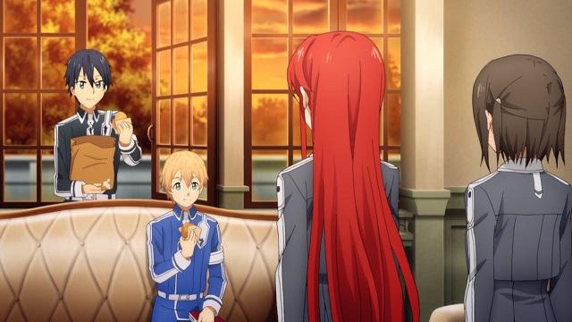 sao上級修剣士になったキリトとユージオ