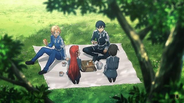 sao上級修剣士と傍付き錬士の親睦会
