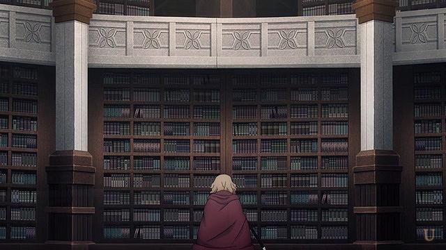 sao命からがら大図書室に逃げ込んだカーディナル