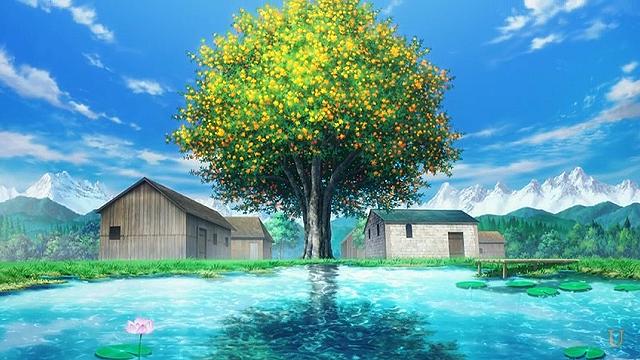 sao 始まりの地に生えていた金木犀の樹