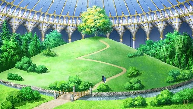 sao カセドラル八十階 雲上庭園