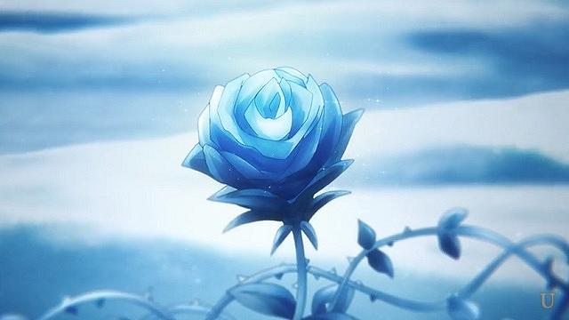 永久氷塊と青薔薇