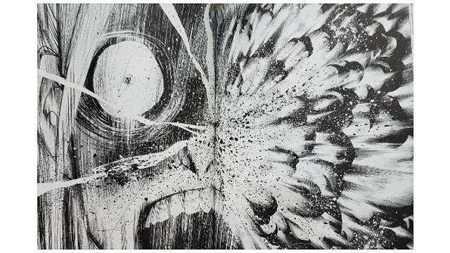 マチネとソワレ3巻誠の顔面爆発イメージ