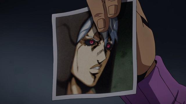 ジョジョの奇妙な冒険第26話暗殺チームリーダーリゾットの写真