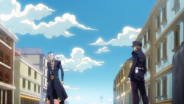 ジョジョの奇妙な冒険第28話アバッキオと元同僚の警官