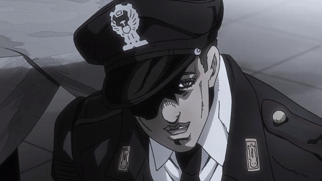 ジョジョの奇妙な冒険第28話アバッキオのかつての同僚の警官