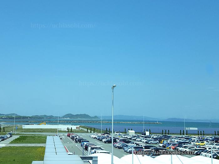 徳島空港からの景色