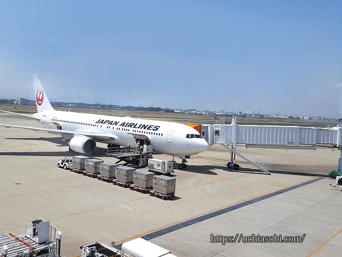 徳島空港飛行機