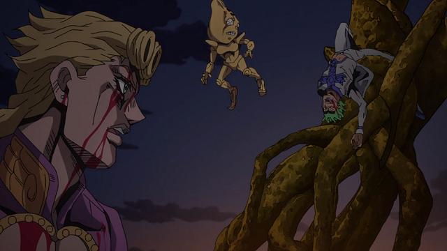 ジョジョの奇妙な冒険第31話死んだふりをするチョコラータ