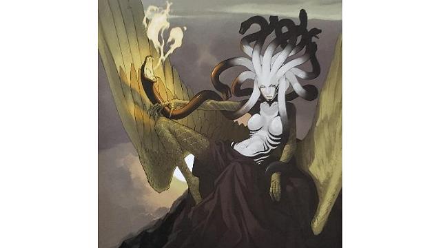 「ロードオブヴァーミリオン」画集 黒-魔種・機甲・不死-編より No.130メデューサ