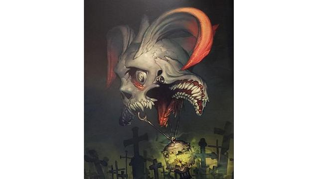「ロードオブヴァーミリオン」画集 黒-魔種・機甲・不死-編より No.085ファントム