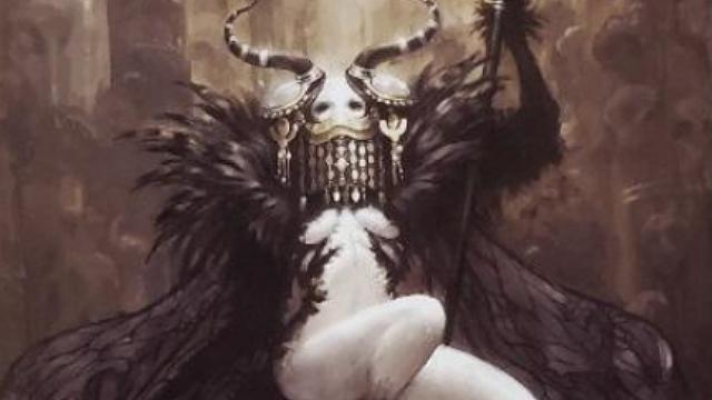 「ロードオブヴァーミリオン」画集 黒-魔種・機甲・不死-編より No.060ベルゼバブ