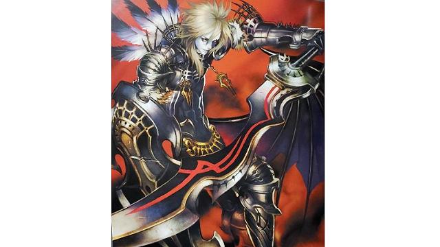 「ロードオブヴァーミリオン」画集 黒-魔種・機甲・不死-編より No.149暗黒騎士