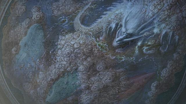 天気の子 雲龍図