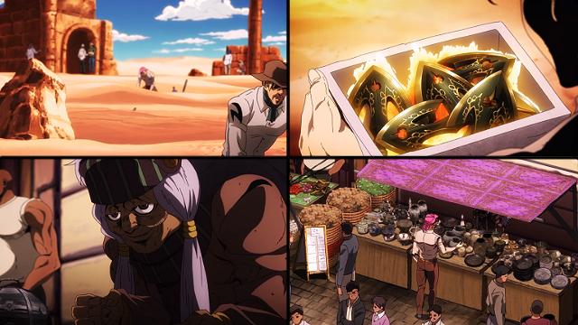 ジョジョの奇妙な冒険第33話矢が世に出回った経緯。ディアボロが矢を盗掘し、エンヤ婆がそれを買った