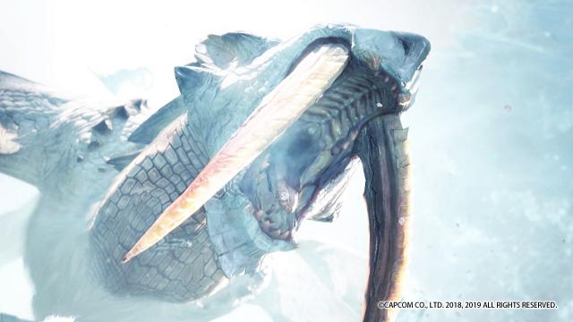 モンハン氷牙竜ベリオロス