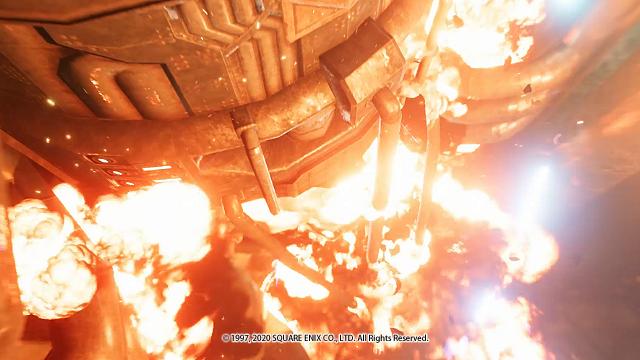 FF7リメイク爆発する壱番魔晄炉