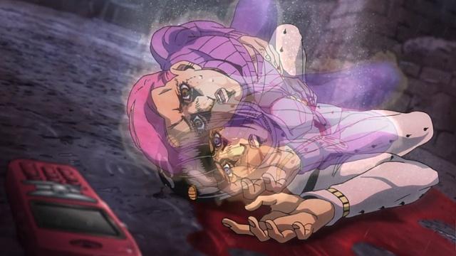 ジョジョの奇妙な冒険5部第36話ブチャラティの体に入ったドッピオの魂