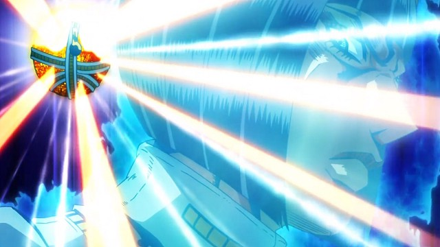 ジョジョの奇妙な冒険5部第37話背後の光の玉を攻撃するブチャラティ