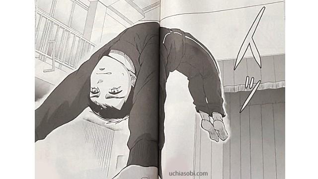 シックス青藍高校男子新体操部バク転に成功したヒロ
