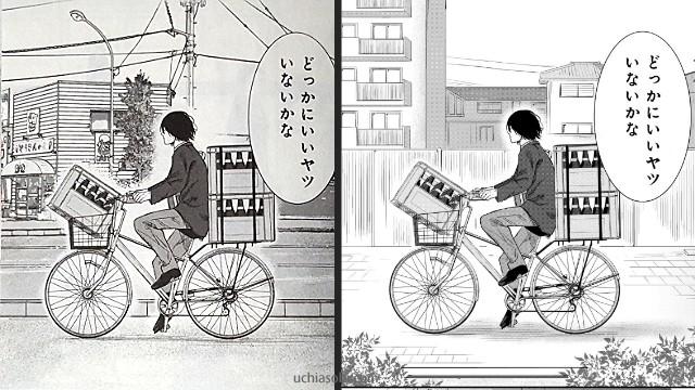 シックス青藍高校男子新体操部吉野ヒロぞうさんのめの前を通る登校ルート
